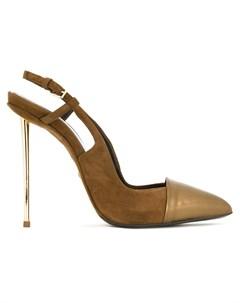 Туфли с ремешком на пятке Marco proietti design