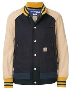 Двухцветная куртка бомбер Junya watanabe comme des garçons man