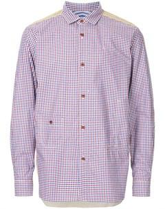 Рубашка с нашивками Junya watanabe comme des garçons man