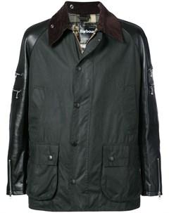 Пальто с контрастными рукавами Junya watanabe comme des garçons man