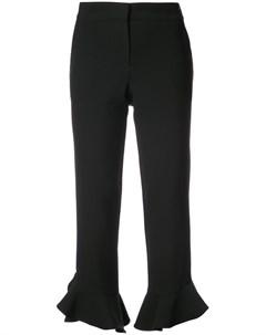 Укороченные брюки с оборками Trina turk