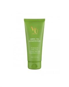 Кондиционер для волос с зеленым чаем Green Tea Conditioner 200 мл Von u