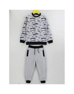 Костюм для мальчика свитшот брюки Скейтер Babycollection