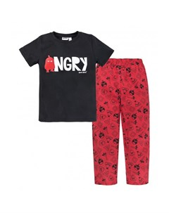 Пижама для мальчика футболка брюки Angry Birds Bossa nova
