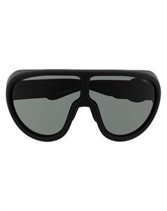 Солнцезащитные очки с логотипом Moncler eyewear