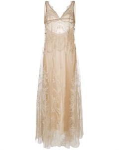 Кружевное платье шифт I.d.sarrieri