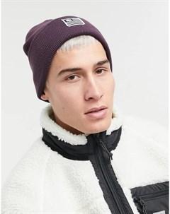 Фиолетовая шапка бини State Carhartt wip