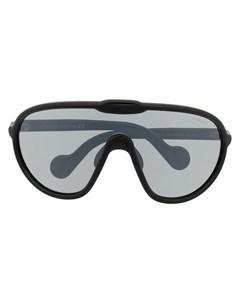 Солнцезащитные очки маска Moncler eyewear