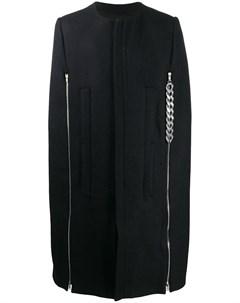 Пальто с цепочкой Raf simons