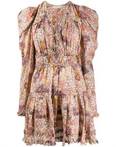 Платье Julie с цветочным принтом Ulla johnson