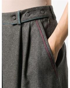 Плиссированная юбка миди Maison flaneur