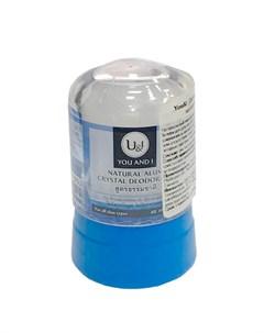 Дезодорант кристалл You I Alum Crystal Deodorant Natural Thai house of nature