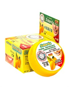 Зубная паста Bamboo Mango Herbal Toothpaste Concetrated 5star4a