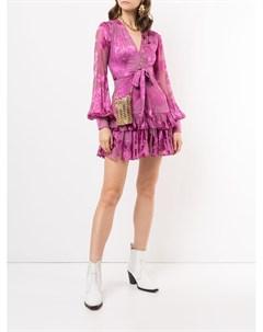 Платье мини Emma с цветочным принтом Alexis