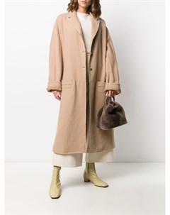 Кашемировое пальто оверсайз Kristensen du nord