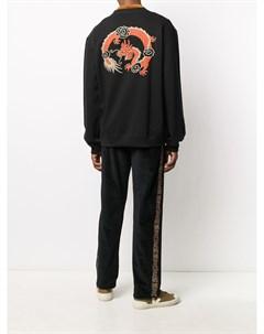 Толстовка Dragon с вышивкой Maharishi