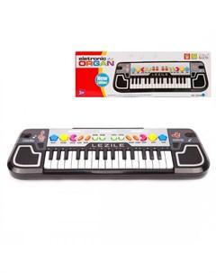 Музыкальный инструмент Синтезатор Lezile 32 клавиши Наша игрушка