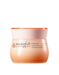 Крем для лица Moistfull Collagen Cream Etude house