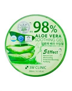 Гель с алоэ Aloe Vera Soothing Gel 3w clinic