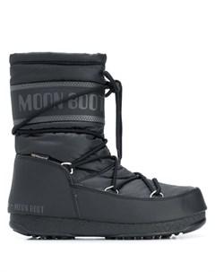 Зимние сапоги на шнуровке Moon boot