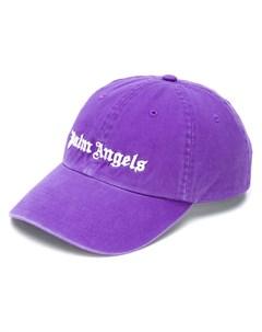 Кепка с вышитым логотипом Palm angels