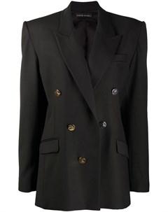 Двубортный пиджак David koma
