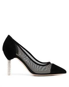 Сетчатые туфли лодочки Jasmine с кристаллами Sophia webster