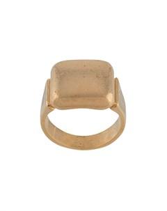 Кольцо с печаткой Bottega veneta