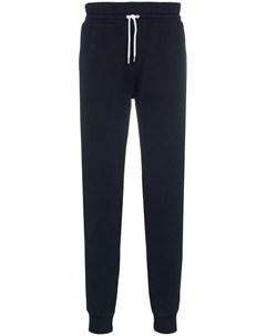 Спортивные брюки с нашивкой лисой Maison kitsuné