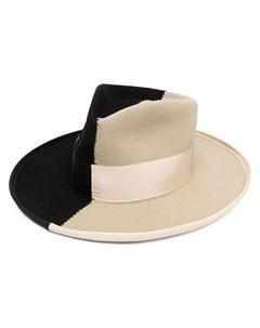 Шляпа Sauvage в стиле колор блок Nick fouquet