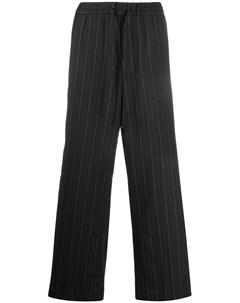 Широкие брюки в тонкую полоску Juun.j