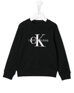 Джемпер с логотипом Calvin klein kids