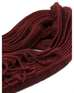 Плиссированный шарф Homme plissé issey miyake