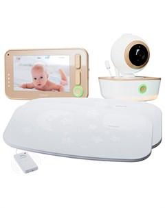 Видеоняня Baby RV1300SP2 с двойным монитором дыхания Ramili