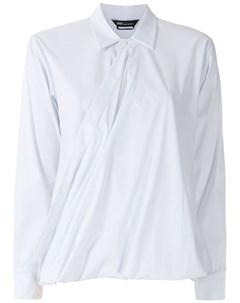 Рубашка Eslovenia с драпировкой Uma   raquel davidowicz