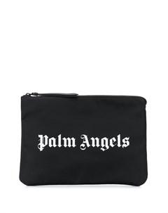 Клатч с логотипом Palm angels