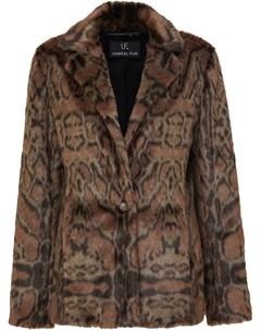 Блейзер с леопардовым принтом Unreal fur
