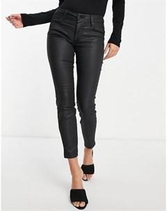 Черные джинсы капри с покрытием Wonder Salsa