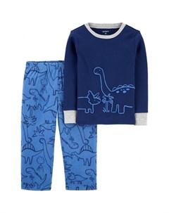 Пижама для мальчика с динозаврами Carter`s