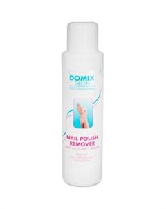 Жидкость для снятия лака без ацетона Domix green