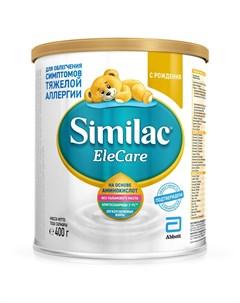 Сухая молочная смесь EleCare для облегчения симптомов тяжелой аллергии 400гр Similac
