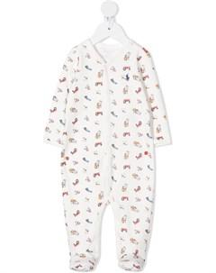 Пижама с принтом Ralph lauren kids