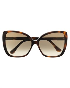 Солнцезащитные очки Becky F S в оправе бабочка Jimmy choo eyewear