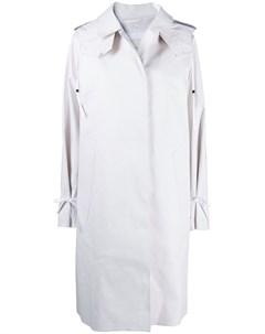 Однобортное пальто миди Cecilie bahnsen