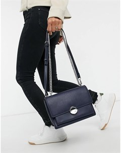 Темно синяя сумка на плечо Selma Fiorelli