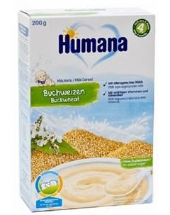 Каша молочная Гречневая 200гр Humana
