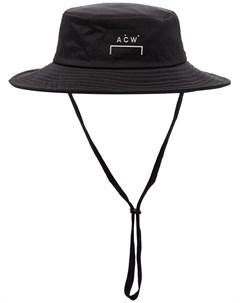 Шляпа с широкими полями и логотипом A-cold-wall*