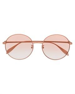 Солнцезащитные очки AM0275S в круглой оправе Alexander mcqueen eyewear