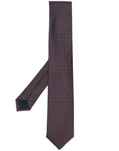 Жаккардовый галстук с принтом пейсли Corneliani