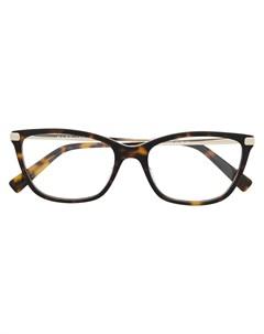 Очки MARC400 в квадратной оправе Marc jacobs eyewear